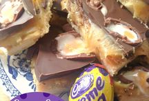 Cadbury Cream Egg Cake