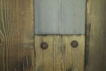 Rustic Wood Planking / Custom antiqued planking for walls in media rooms, bedrooms, etc.