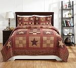 BEST SELLING Country Primitive Quilt Ensembles/Beth's Country Primitive Home Decor / These are some of our BEST SELLING Quilt Ensembles. Each one includes a quilt and shams. Shop now and save up to 20% off your order! www.BethsCountryPrimitiveHomeDecor.com