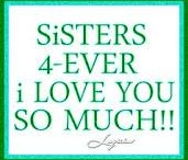 Sisters / I am one of 6,   But I have no idea how many sisters-in-Christ I have!
