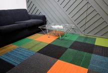 burmatex installations / Installations of our carpet tiles