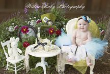 Newborn - Baby Girl Fairytale Photo Session