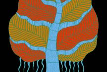 Stylized / semi abstract trees / by eve moffatt
