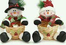 cestas decoradas