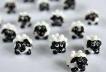 Sheep Beads