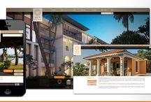 Sun Estates Developers / Responsive Desktop & Mobile Website for a premium real estate and hospitality group in Goa.