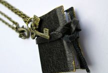 Mini Book Jewelry / Miniature book Jewelry