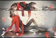 anime e manga couple