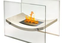 Freestanding Bio Ethanol Fireplaces / Clean-burning and portable fireplaces for any space. No Chimney. No Flue. No Hook-Up. No Hassle!
