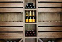 Étagères à bouteilles de vin