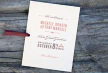 Wedding Ideas / by Whitney Reed