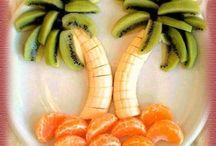 creazioni frutta e verdura