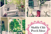Shabby Chic Porch Ideas / Shabby decor