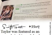 Taylor Swift Facts / So you think you knew everything about her..? Think again...