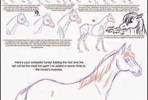 Tegne hest