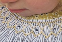pins and needles / smocking, embroidery and stitching  / by Karen Meadows