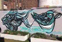 Murals / Street art and graffiti murals painted around the world
