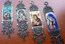 Religious Items / Religious items,holy mary and jesus rosary purses,wall hanging tapestry,bookmarks