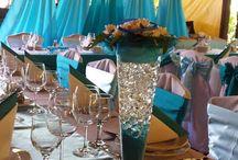 Beach esküvői dekoráció