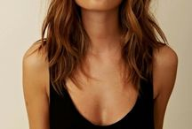 Longitudes media melena cortes de pelo largo