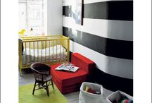 Nursery Rhimes: Modern / Black and White, Art, Modern, Graphic