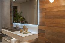 Interior - Banheiro e lavabo