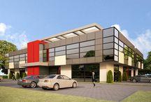 Hala wystawowa / inspiracje architektoniczne