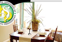 Staging Association / The International Association of Home Staging Professionals, IAHSP, is the most distinguished, most established, and the most recognized Home Staging Association in the World.  1-800-392-7161 / by Barb Schwarz, Stagedhomes.com IAHSP