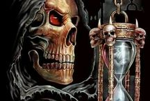 скелет и время