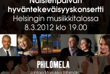 Philomela / An exceptional female choir from Helsinki, Finland. This group Is best experienced LIVE!