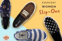 Women's Slip-Ons!