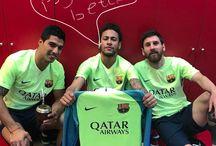 Luis , Leo , Neymar