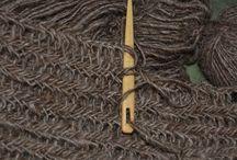 Необычное вязание иглой