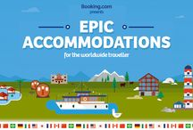 Epic Accommodations! / What is your Epic Accommodation? Pin the best Booking.com stay you've had or want to have and check out your fellow travellers favourites here: www.booking.com/epic #bookingepic / by Booking.com