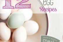 Freezable egg Recipes