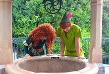 Peter pan and Merida