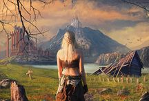 Fantasy, The Witcher, Steampunk, Sci-fi