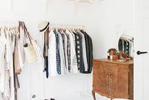 Closet / Closet inspirations