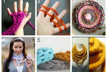 Finger Knitting and/or Crocheting