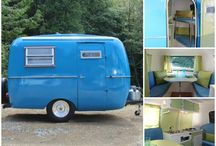 I don't camp for real. / But I'm obsessed with little campers and VW Westfalias.