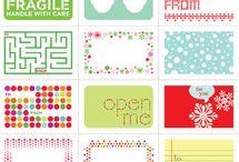 De todo para imprimir / Tarjetas, etiquetas y más, para imprimir o hacer!