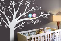 Decoupage baby/kids room