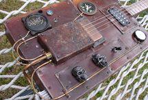 Guitar Cigar Box