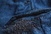 Hand repairs / mendings / Only traditional boro workwear repairs.
