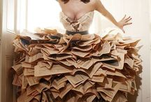 recycled material dresses