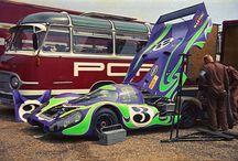 Porsche en Course