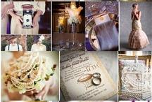 Gatsby Wedding Ideas / Great Gatsby, 1920's era themed wedding ideas