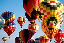 Hot air balloons / by My Eternal  LoveXx