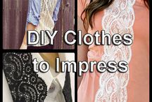 Cool DIY ideas to Impress / Looking to spice up your day to day outfit? checkout our lists of DIY Clothing Styles that will surely impress everyone. Any unrelated pin posts will be automatically deleted so please post only related pins.  Feel free to check us out @ http://www.zoeslifestylefashion.com