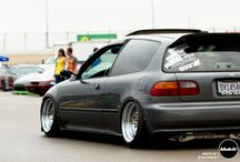 Honda civic's